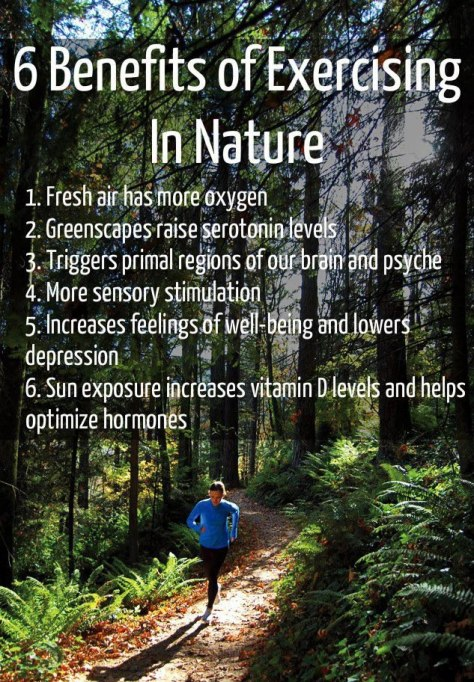 Exercising in Nature