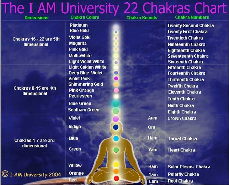 The 22 Chakras   Chakra Toaster